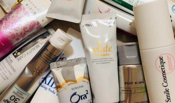 ホワイトニング用歯磨き粉