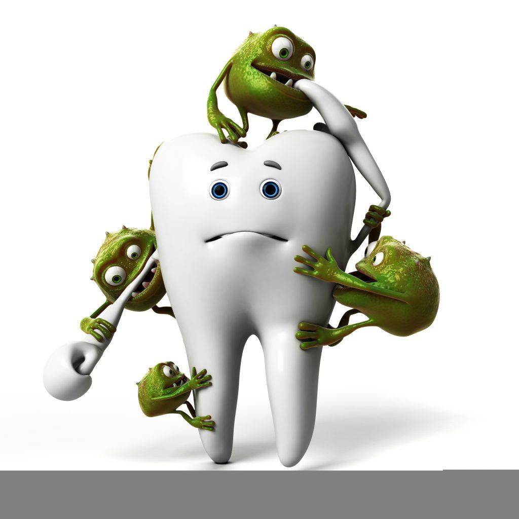 歯についたばい菌