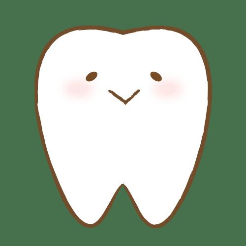 嬉しそうな歯